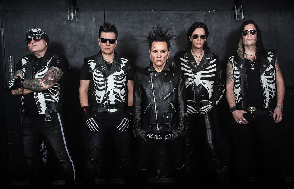 69 Eyes Hell Has No Mercy 2020 U.S.Tour