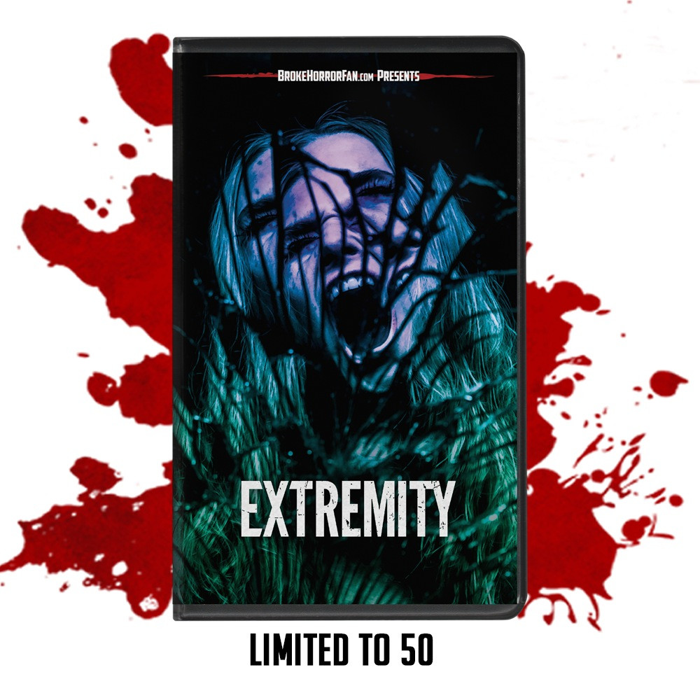 Anthony DiBlasi Extremity VHS Broke Horror Fan DREAD