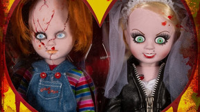 Mezco's 'Bride Of Chucky' Living Dead Dolls Set Gets Resurrected For Valentine's Day