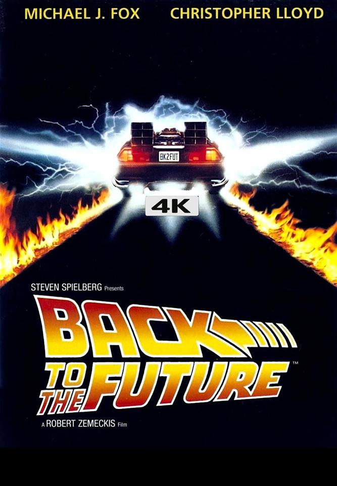 Back to the Future Trilogy 4K Ultra HD