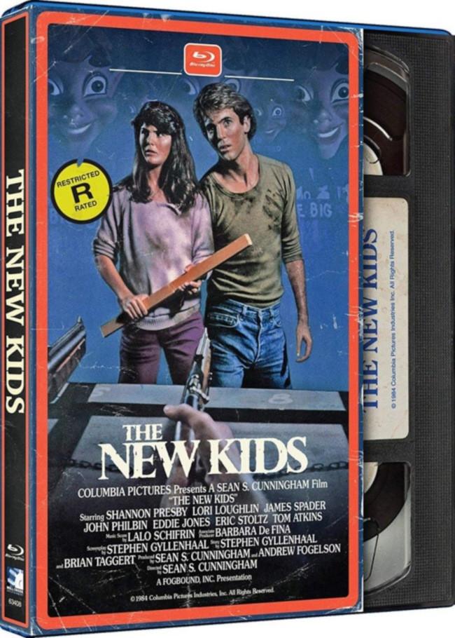 New Kids Retro VHS Blu-ray
