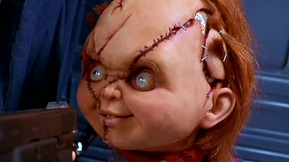 "Mezco Toyz Next Burst-A-Box Is ""Scarred"" Chucky From 'Bride Of Chucky"