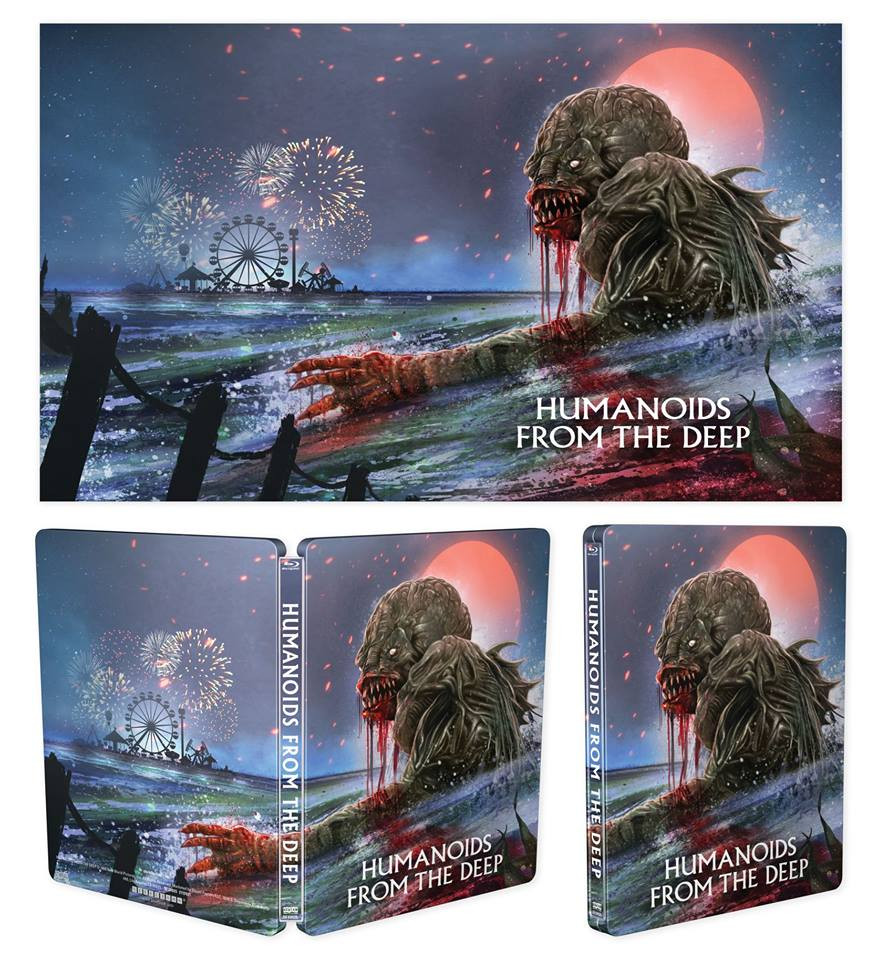 Humanoids from the Deep Scream Factory Steelbook