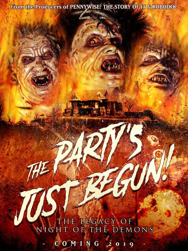 The Party's Just Begun: Night of the Demons Poster