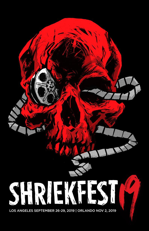 Shriekfest 2019 Poster