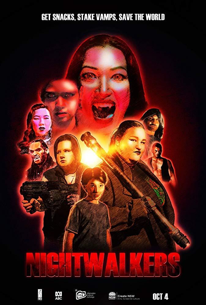 Nightwalkers Poster Adrian Castro