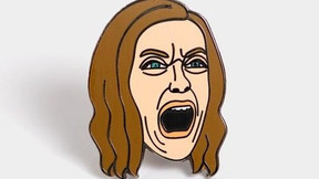 [Gift Guide] A24's Screaming Toni Collette 'Hereditary' Enamel Pin