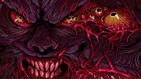 Glorious New 'Psycho Goreman' Artwork is a Bloody Mess