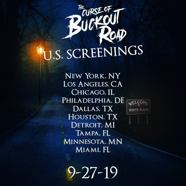 The Curse of Buckout Road US Screenings