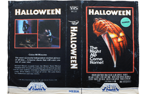 Halloween VHS Blanket Creepy Co.