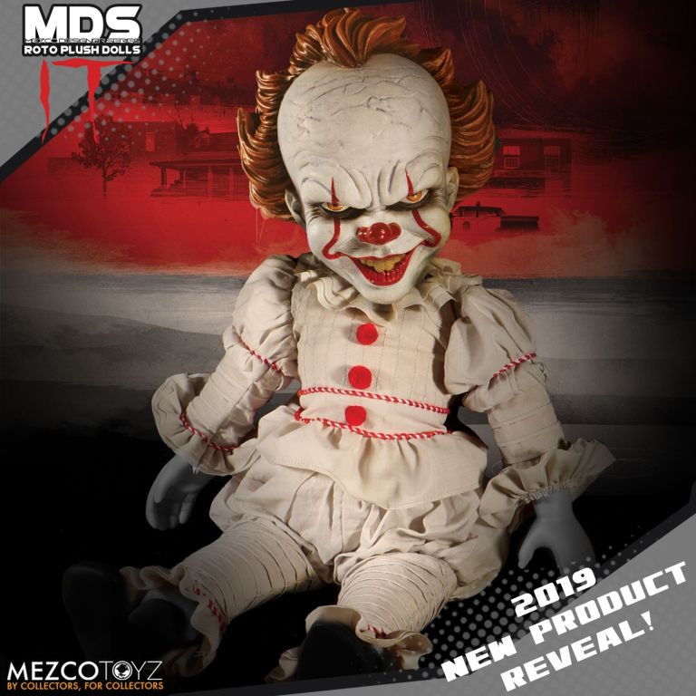 Mezco Toy Fair 2019 Sneak Peek Pennywise