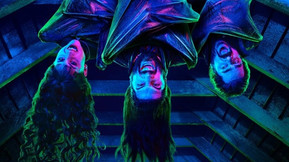 Two New Posters For FX's 'What We Do In The Shadows' Are Seen In Blacklight
