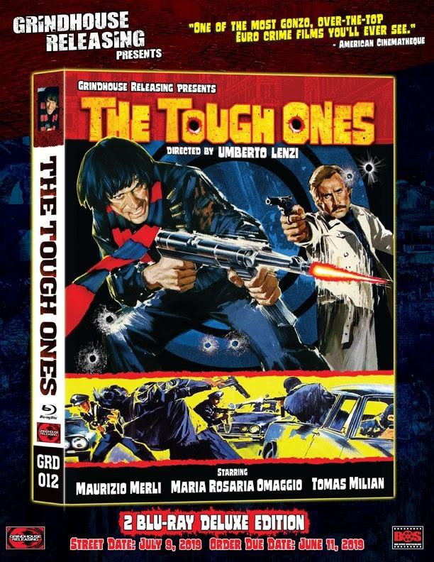 Umberto Lenzi Tough Ones Blu-ray Grindhouse Releasing