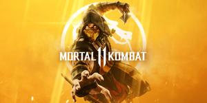 Mortal Kombat 11 Scorpion Cover Art