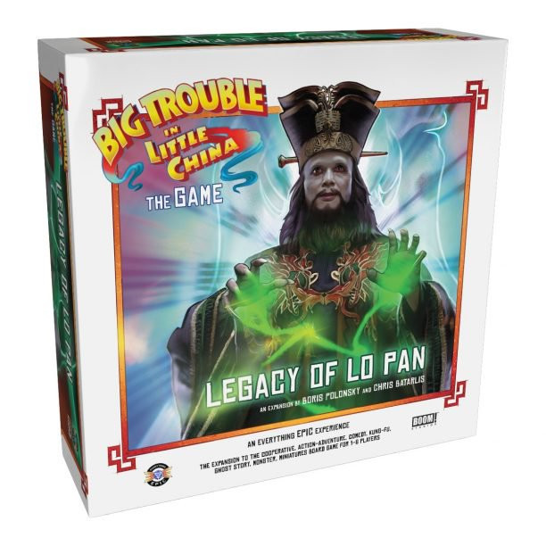 Big Trouble in Little China: The Game Legacy of Lo Pan Expansion