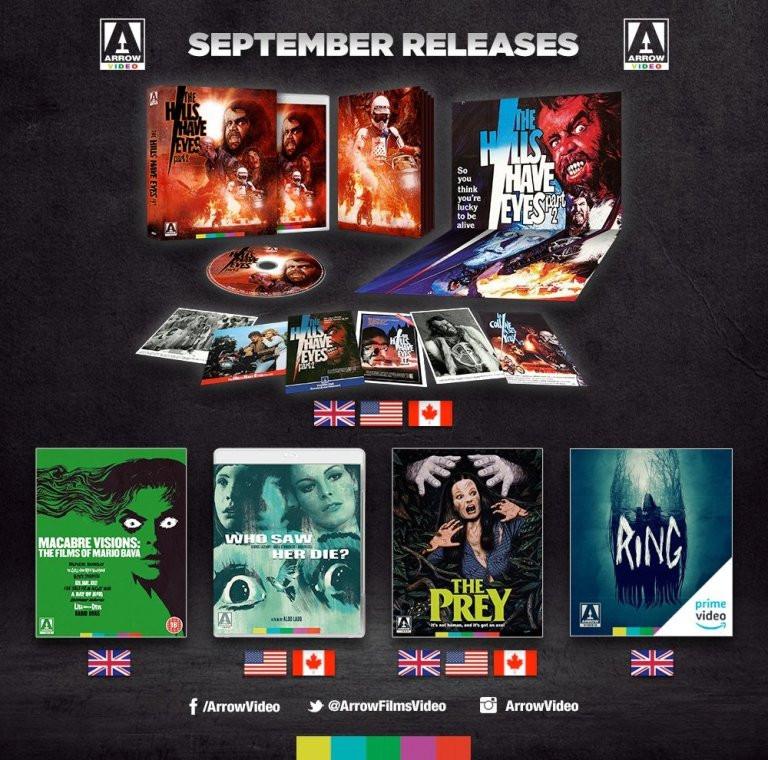 Arrow Video September 2019 Announcements