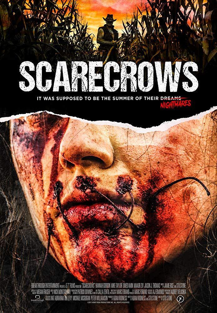 Scarecrow Stu Stone Poster