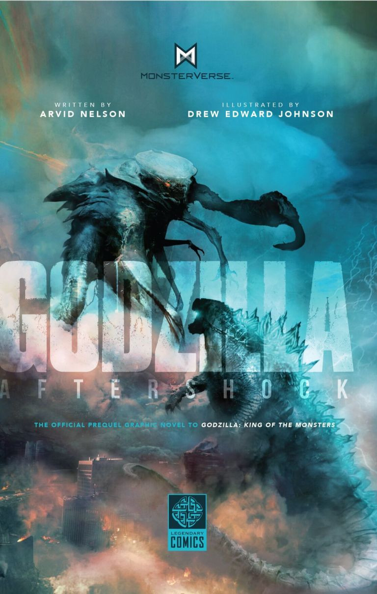 Godzilla Aftershock Prequel Graphic Novel