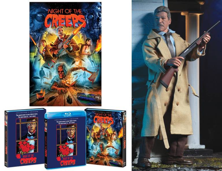 Scream Factory Night of the Creeps Blu-ray Special Features