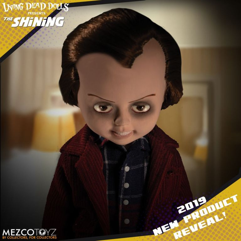 Mezco Toy Fair 2019 Sneak Peek Jack Torrance