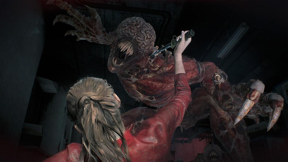 Resident Evil 2 HD Licker