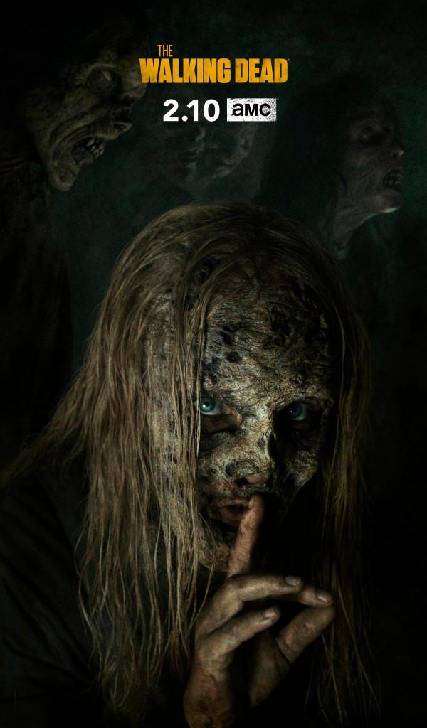 The Walking Dead Season 9 Whisperers Alpha Key Art