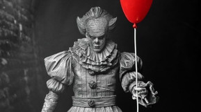 NECA Reveals Unique SDCC Exclusive Etched Pennywise Action Figure