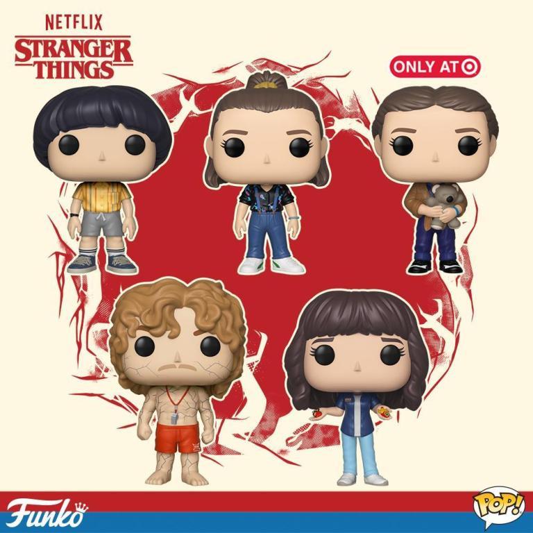 Stranger Things Season 3 Funko Pop