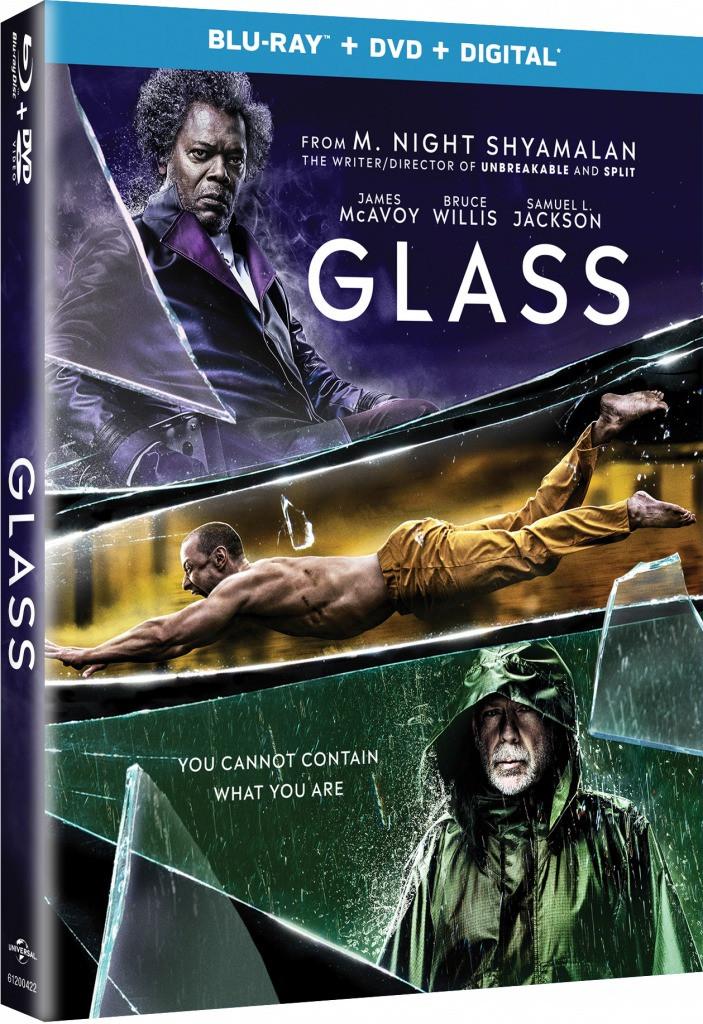 M. Night Shyamalan Glass Blu-ray