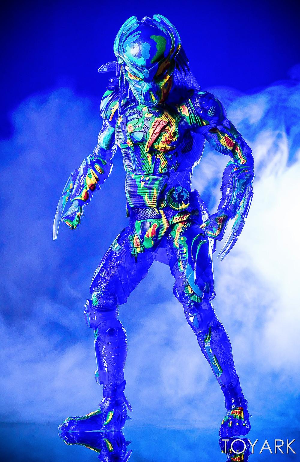 NECA Thermal Vision Fugitive Predator Figure