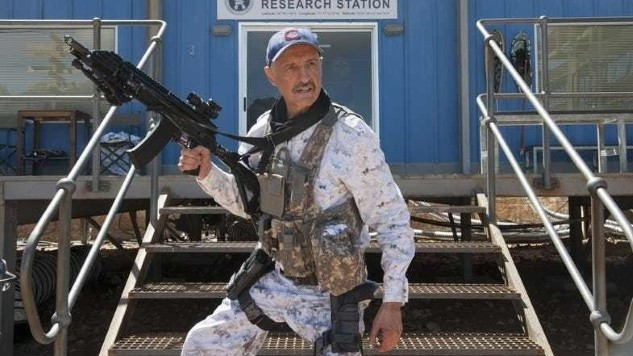 Michael Gross Tremors 7 Draft Written