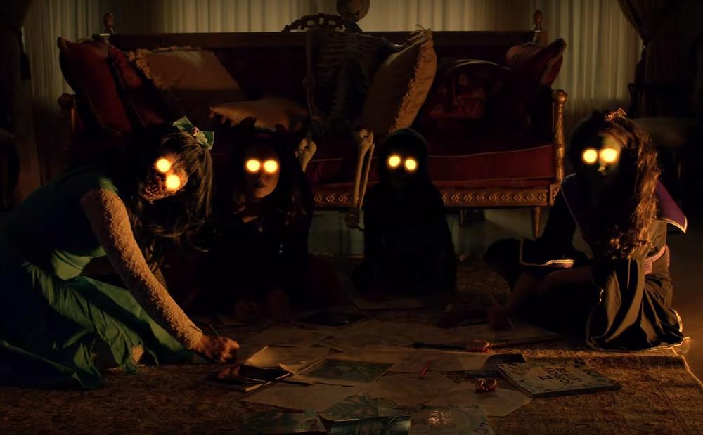 Beauty of Horror Tricks and Treats Trailer Tarot Cards