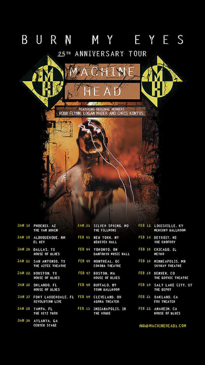 Machine Head Burn My Eyes North American Tour
