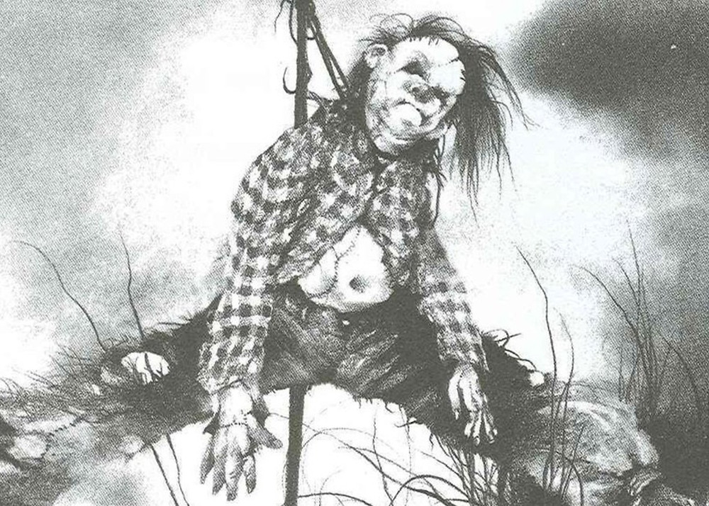 Scary Stories To Tell In The Dark Poster Harold The Scarecrow