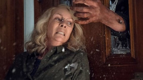 Michael Attacks Laurie In The First Clip From 'Halloween'