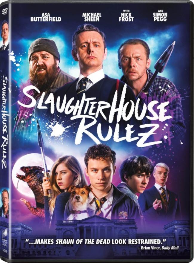 Slaughterhouse Rulez DVD Release Date U.S.