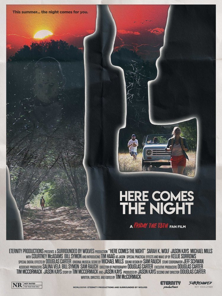 Here Comes The Night Friday the 13th Fan Film Poster