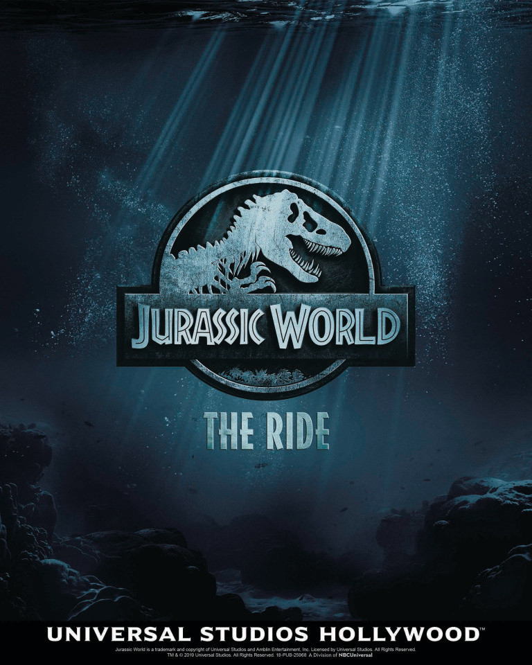 Jurassic World The Ride Universal Studios Summer 2019