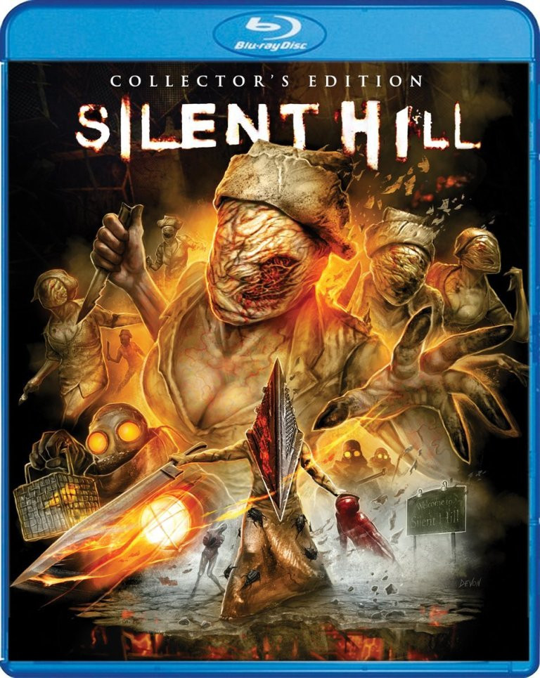Silent Hill Scream Factory Collector's Edition Blu-ray