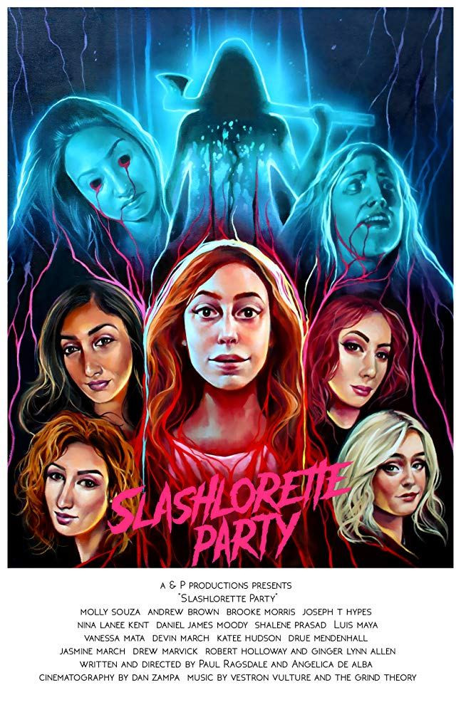 Slashlorette Party Poster