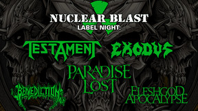 Testament, Exodus and Paradise Lost to Play Nuclear Blast Label Night at Summer Breeze Open Air 2021