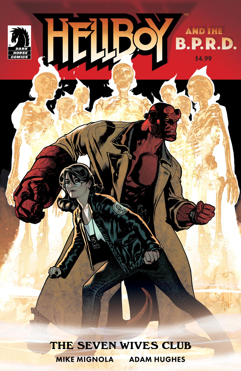 Hellboy & The B.P.R.D.: The Seven Wives Club Cover A