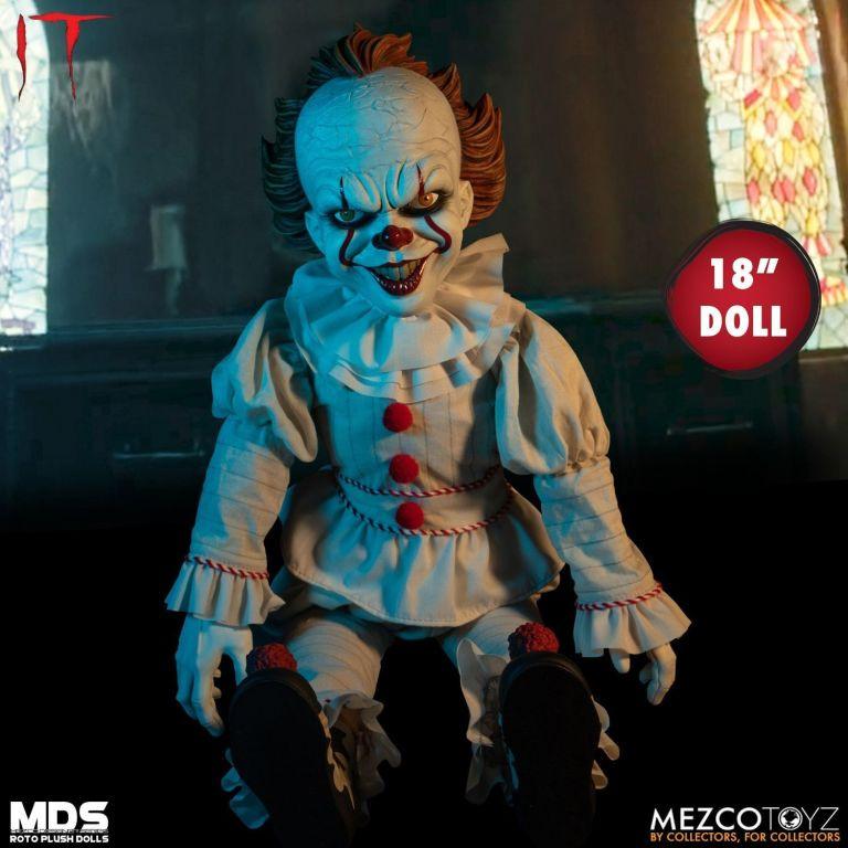 Pennywise IT 2017 Roto Plush Doll Mezco