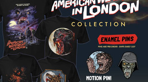 'An American Werewolf In London' Collection Comes Howling In From Fright Rags