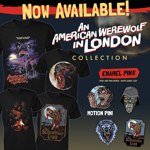 An American Werewolf In London' Collection Comes Howling In