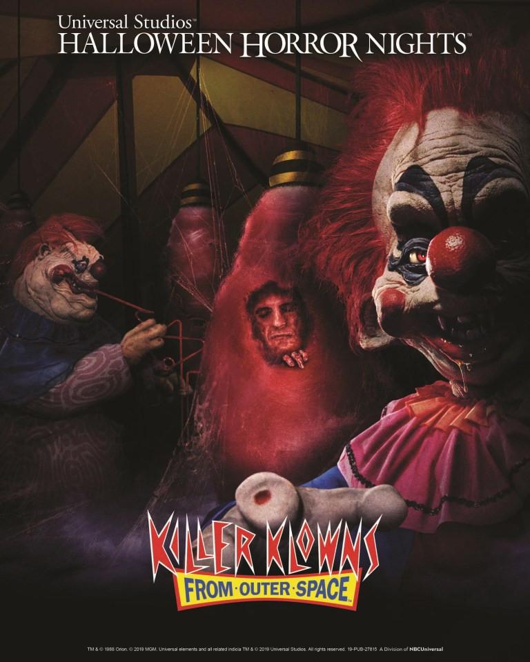 Killer Klowns Halloween Horror Nights 2019