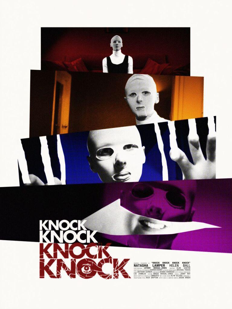 Sincerely, Psychopath #2 - Knock Knock Knock Knock Poster