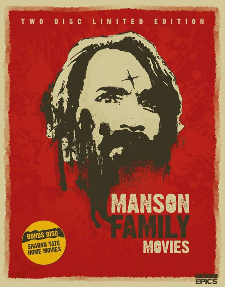 Manson Family Movies Cult Epics 2-Disc Limited Edition