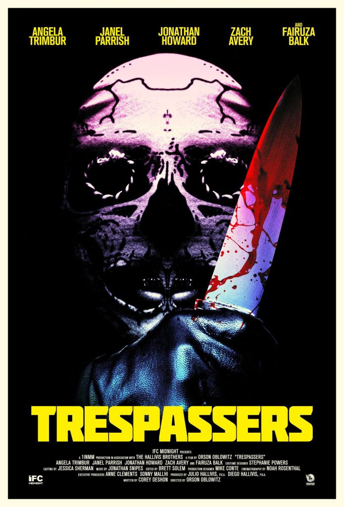 Orson Oblowitz Trespassers Poster