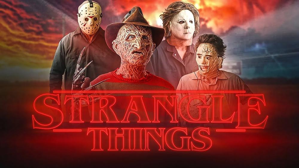 Strangle Things The Merkins Stranger Things Intro